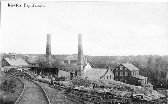 Klevfos Cellulose & Papirfabrikk