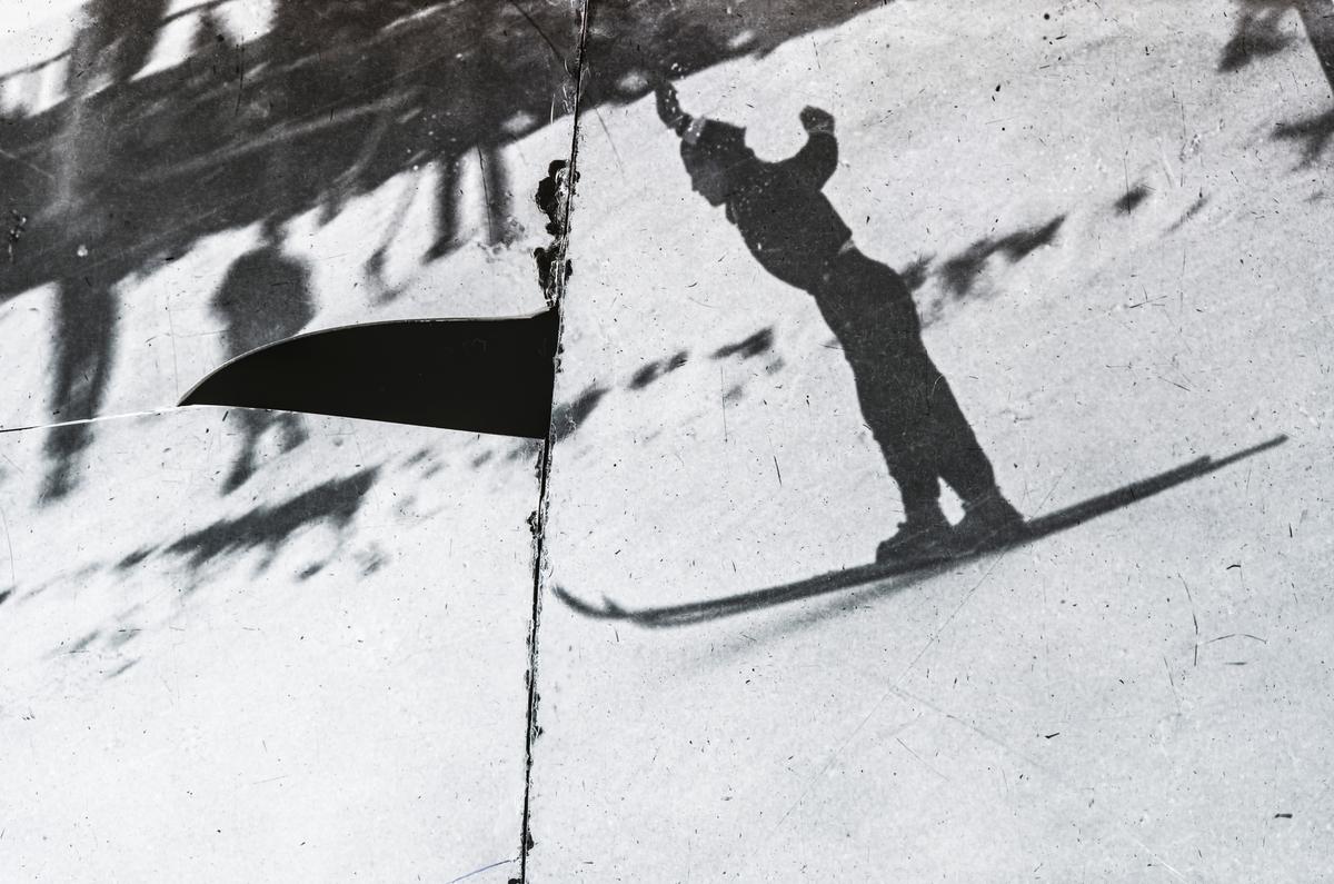 Kongsberg skier in landing