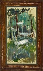 Vita stolar [Målning]