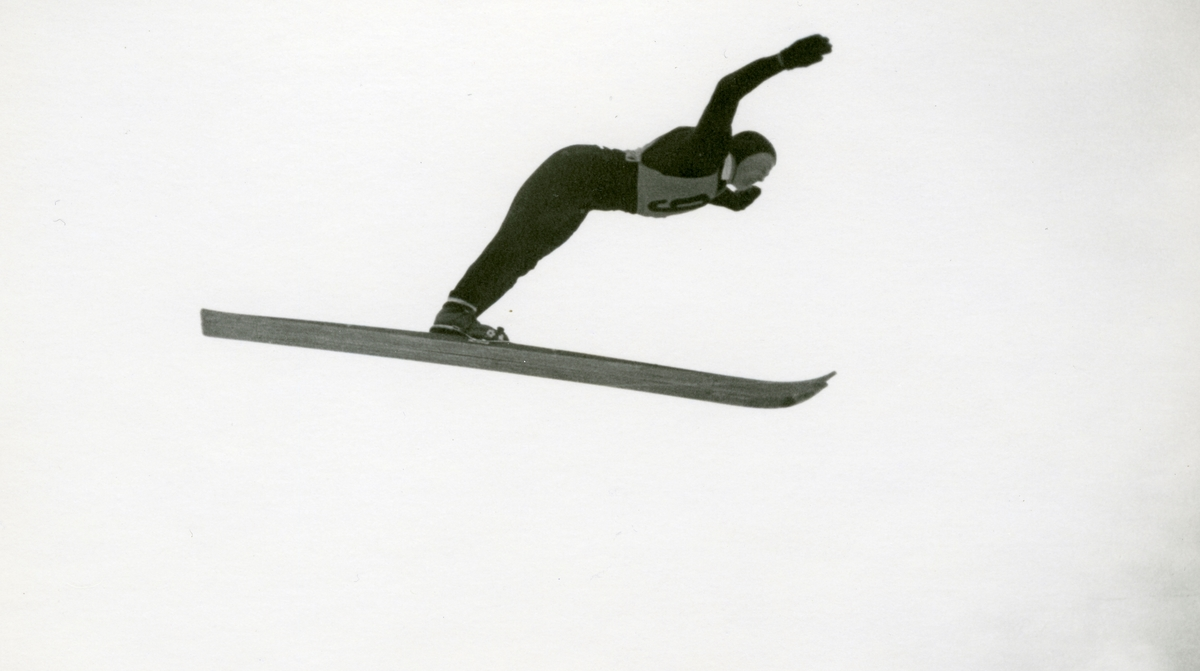 Norwegian skier Kåre walberg during OG at Garmisch