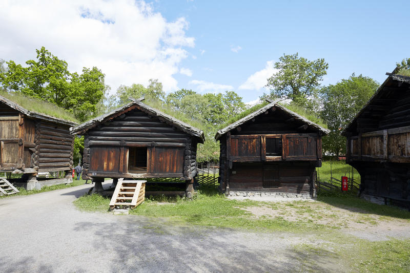 Hallingdalstunet på Norsk Folkemuseum