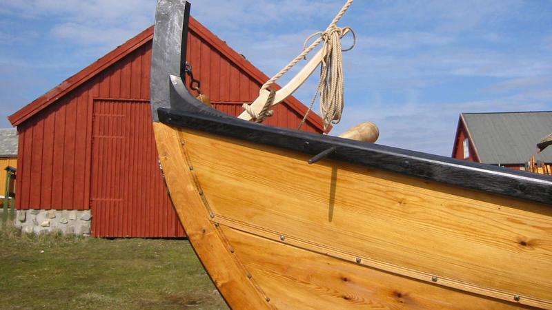Nordmørsbåten Valsøygeita, bygd i 2003. (Foto/Photo)