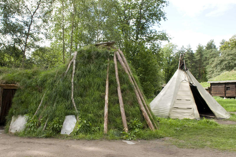 The Sami Settlement at Norsk Folkemuseum