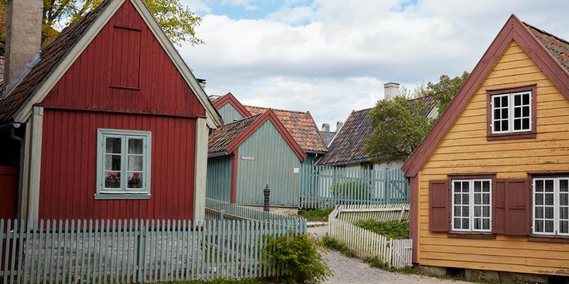 Forstadshus fra Enerhaugen og Hammersborg
