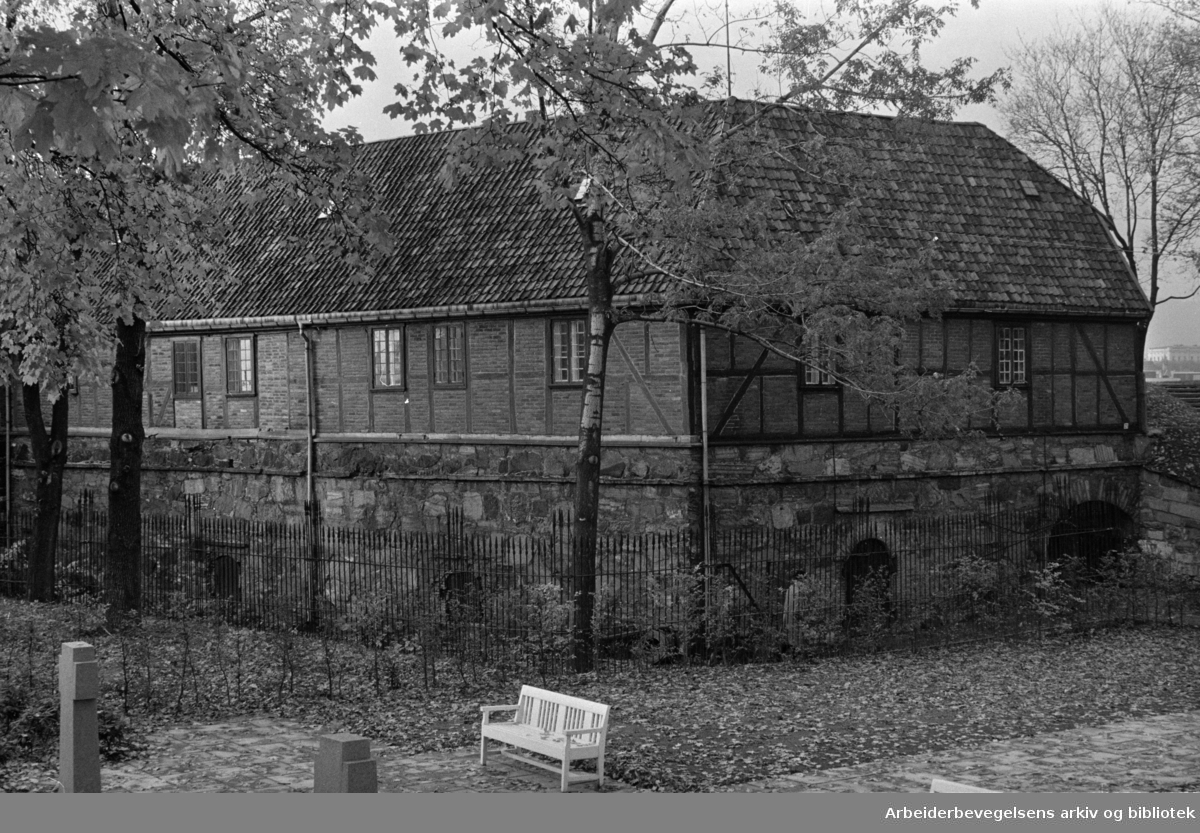 Hjemmefrontmuseet. Akershus Festning. Oktober 1963