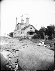 Varmbadhus, Öregrund, Uppland 1910