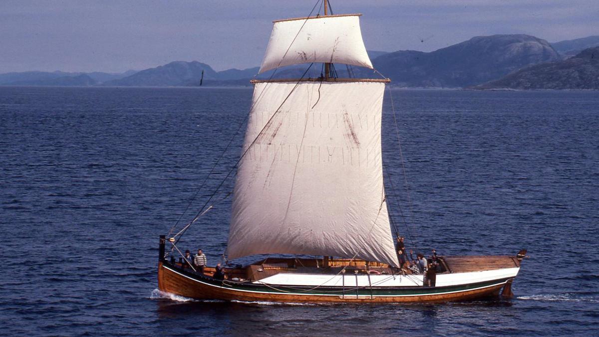 Åfjordsbåt. Tendring /bygdabåt. (Foto/Photo)
