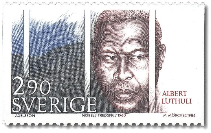 Albert Luthuli, Sydafrika