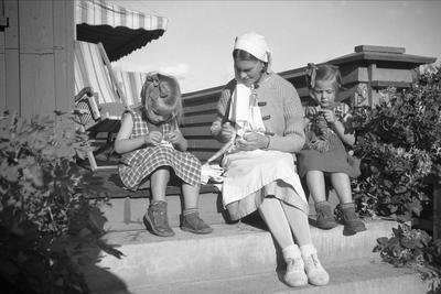 Strikking 1935. Foto/Photo