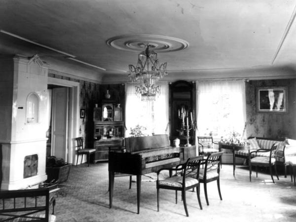 Rød Herregård, Berg, Halden 1954. Foto/Photo
