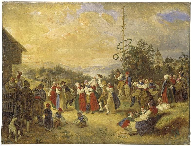 Midsommardans i Rättvik