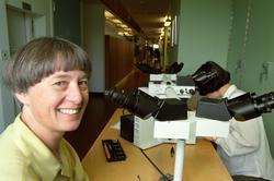 Pionjärer - Monica Nistér (tumörbiolog vid patologen) och gä