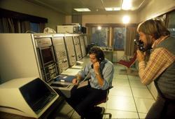 Utstillinger North Sea offshore - messen dekket av tysk TV t
