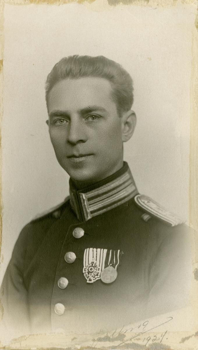 Porträtt av musikdirektör Ivar Fredrik Widner.
