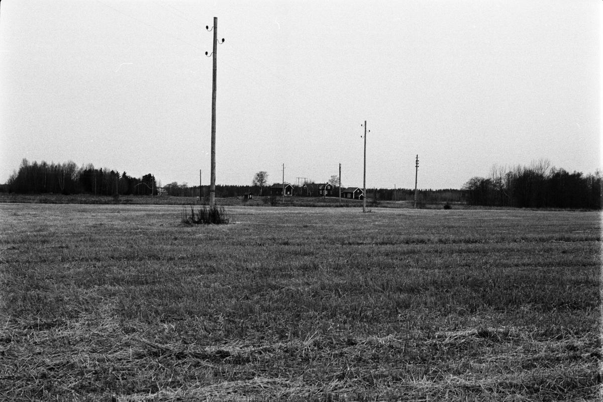 Vy över Tensta-Forsa 11:2, Tensta socken, Uppland 1978