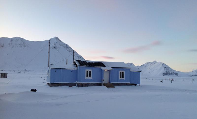 Fredet radiostasjon i Ny-Ålesund fra 1918