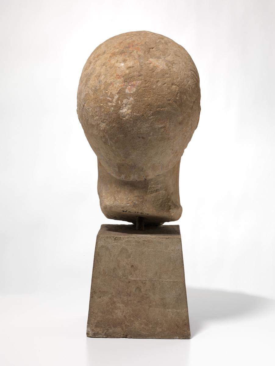 Portrett av Trajan, etter Decennalietype [Hode]