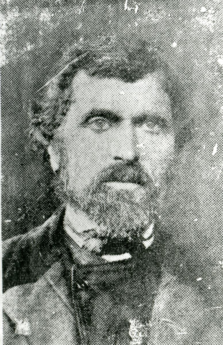 Portrett av Lars K. Kirkeberg.