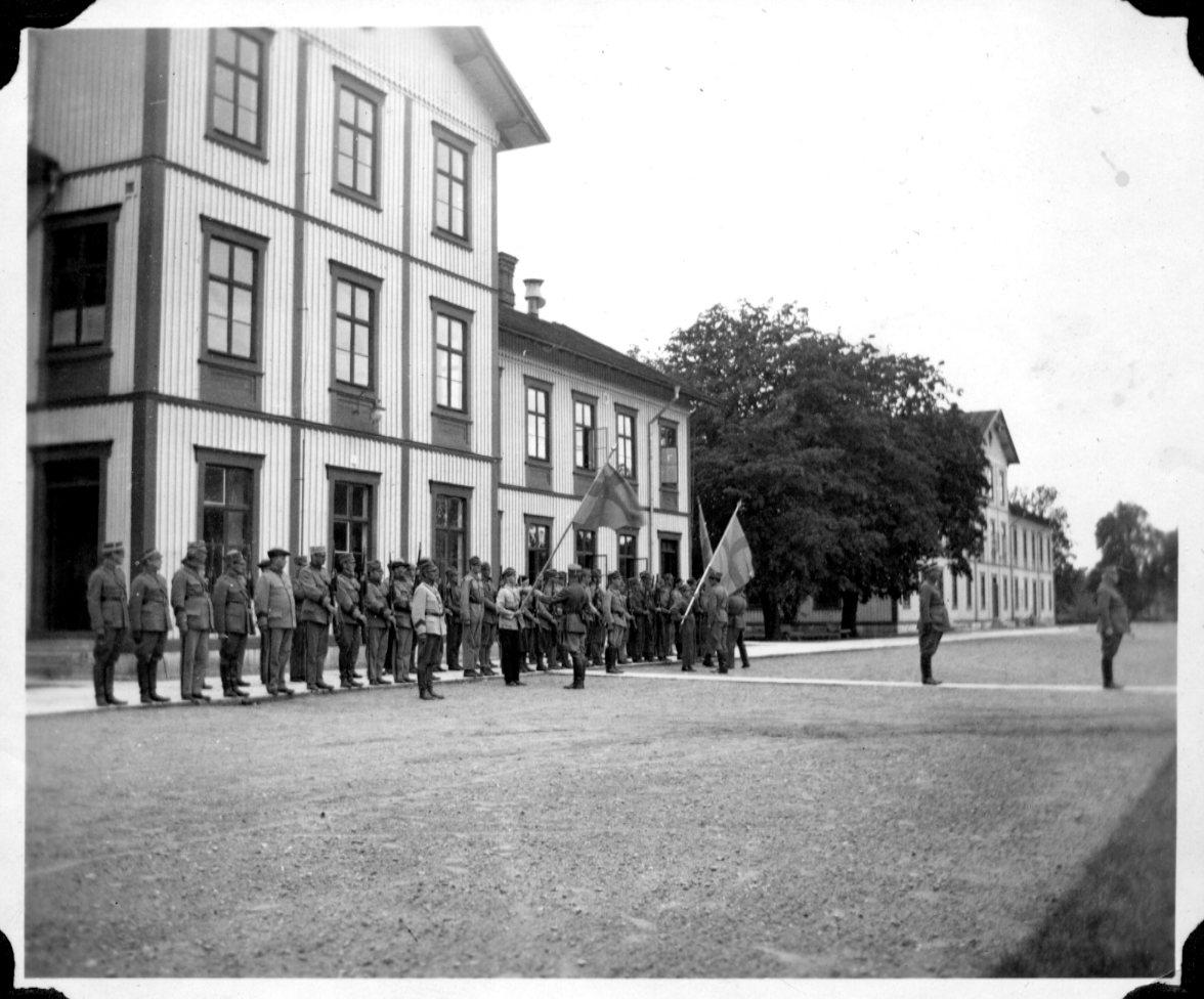 Parad, Karlsborg.