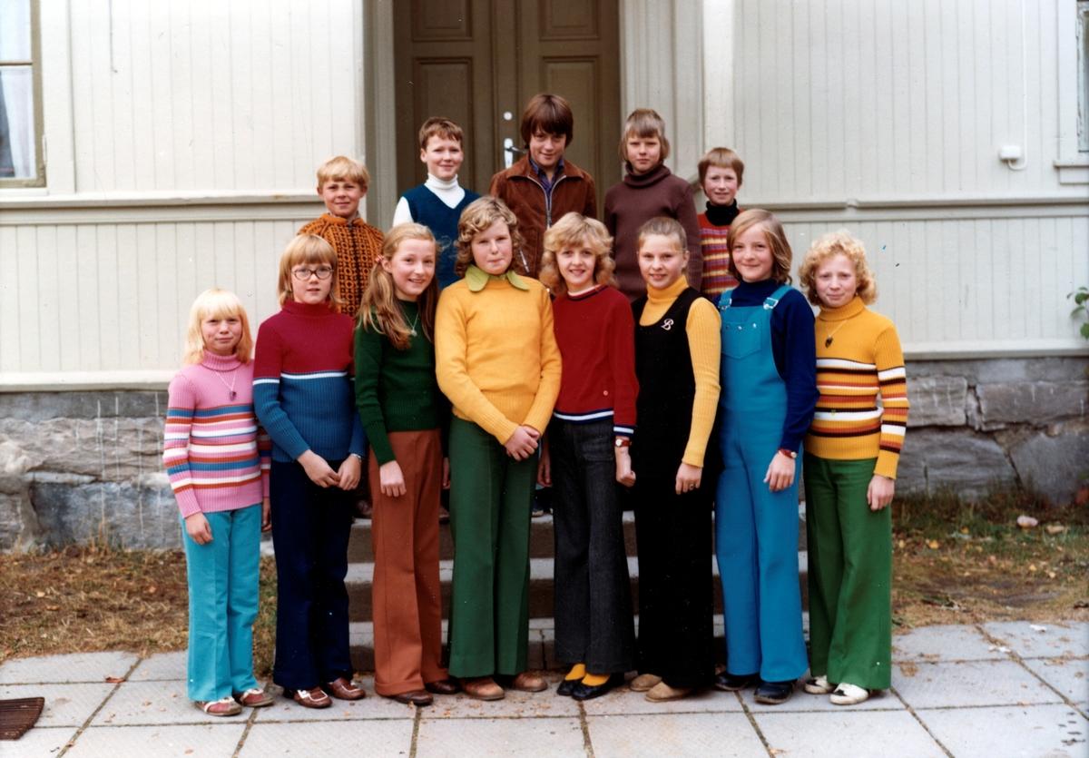 Hagen skole,storklassen 1975