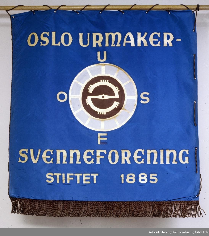 Oslo Urmaker- Svenneforening.Stiftet 1885
