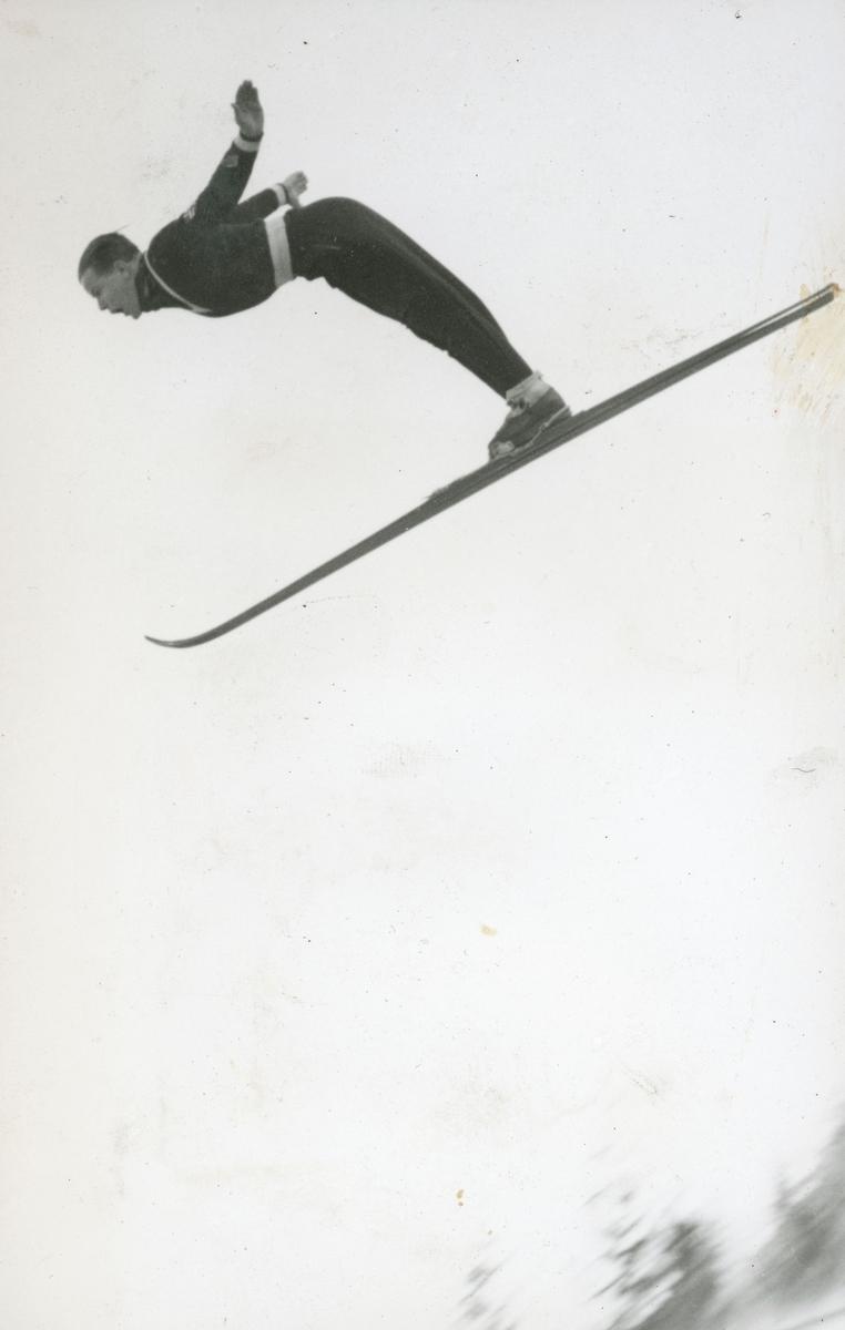 Athlete Sigmund Ruud in action