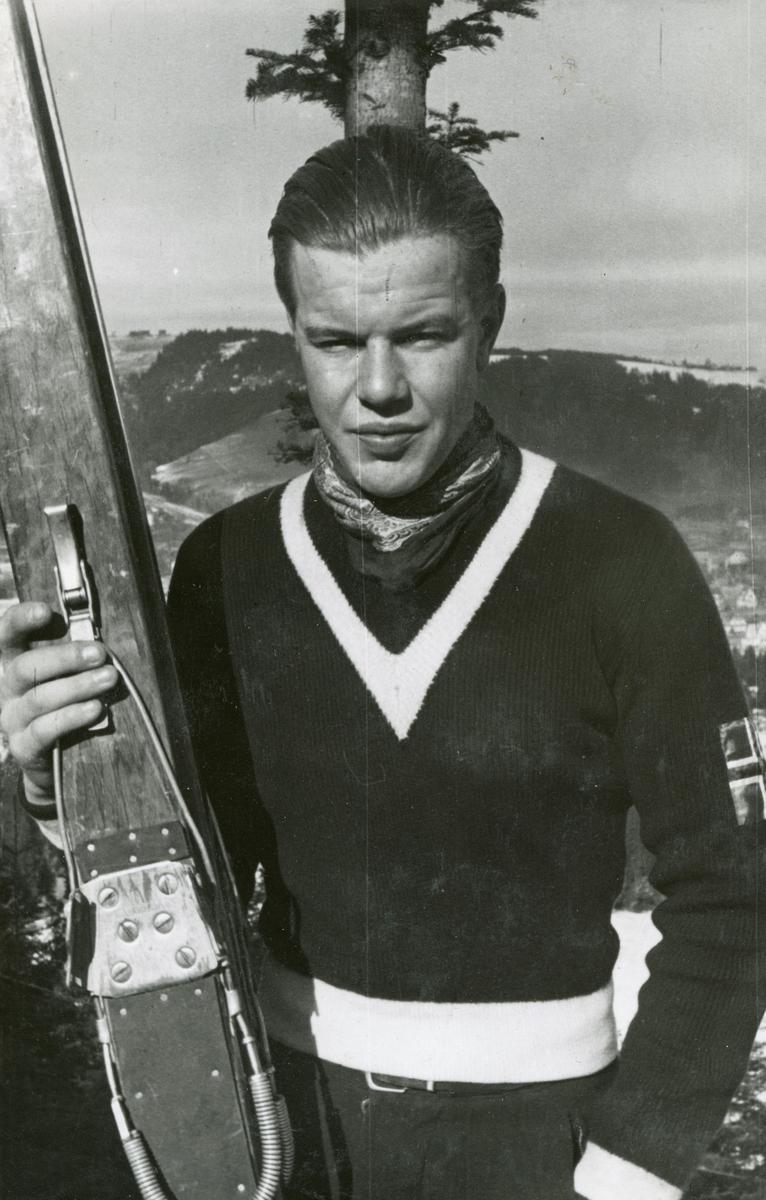 Athlete Asbjørn Ruud after competition