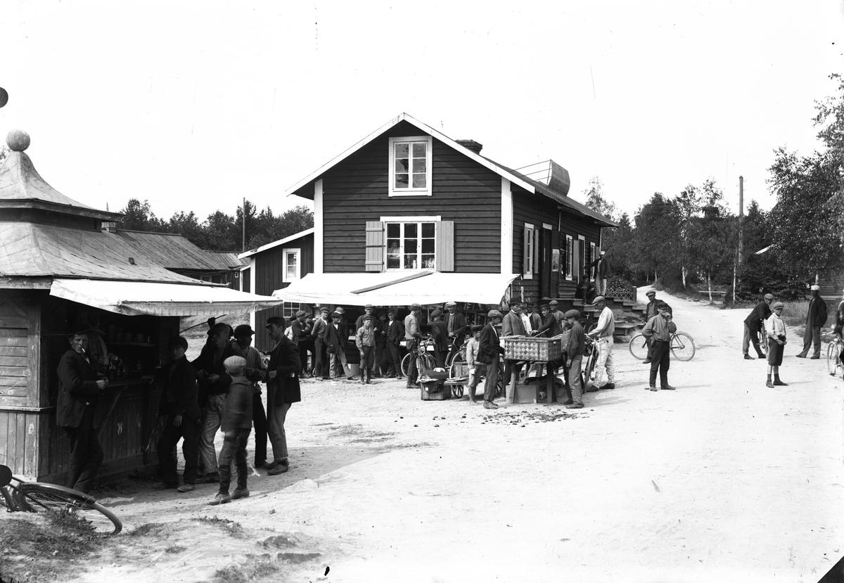 Marknadsdag, Norrsundet.