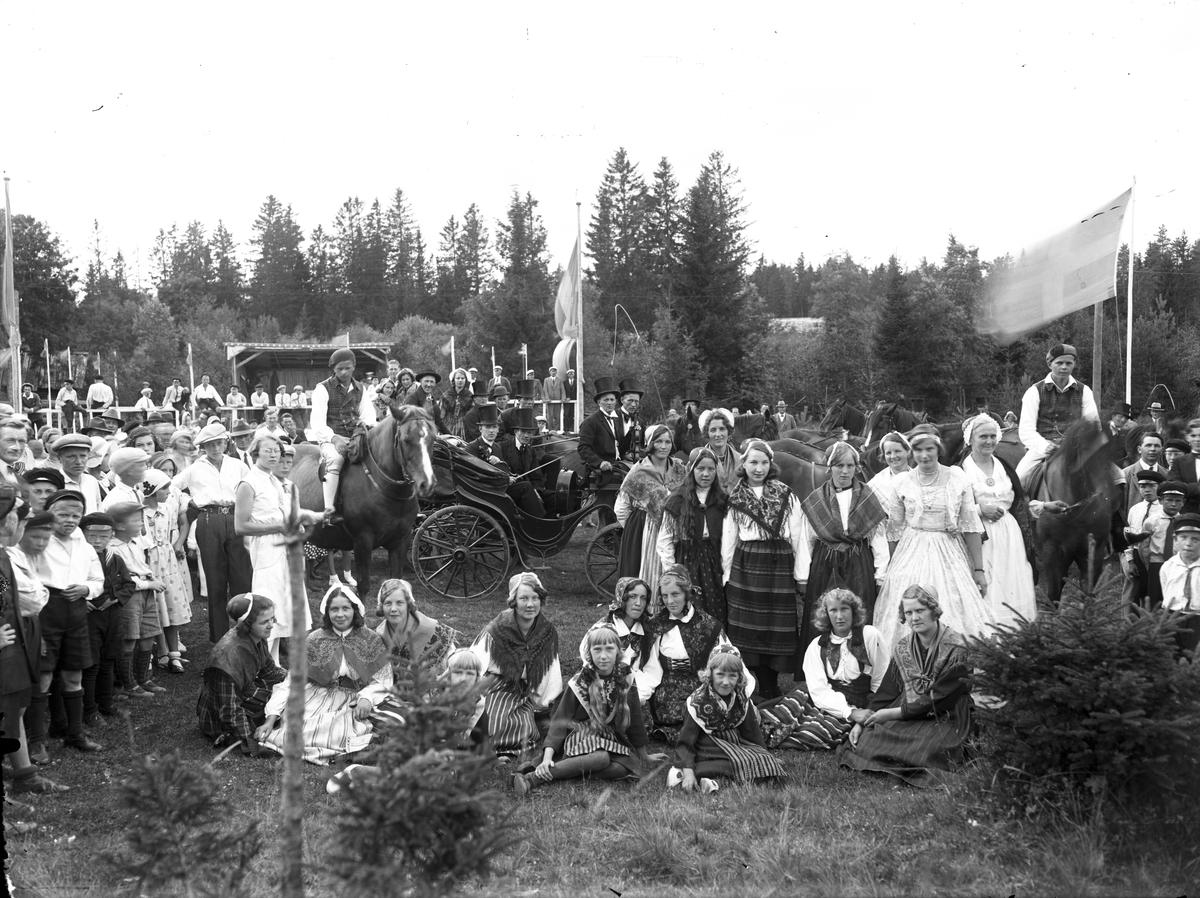Hembygdsfest på Vifors festplats.