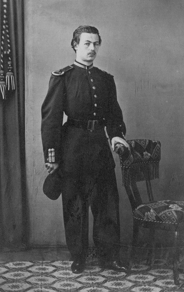 Kapten Rudolf Bäckström.