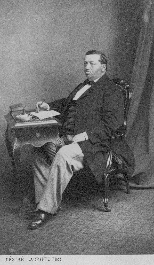 Konsul Frans Oscar Flensburg, apotekare.