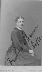 Johanna Carolina (Lina) Jönsson, född 1844 i Gävle död 1910