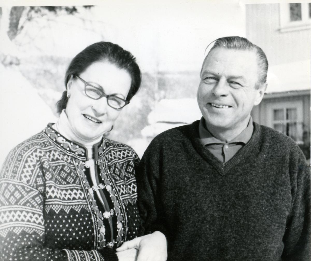 Per og Ingrid Piltingsrud.