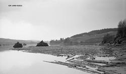 Fra Bingen lenser i Sørum kommune i Akershus.  Fotografiet e