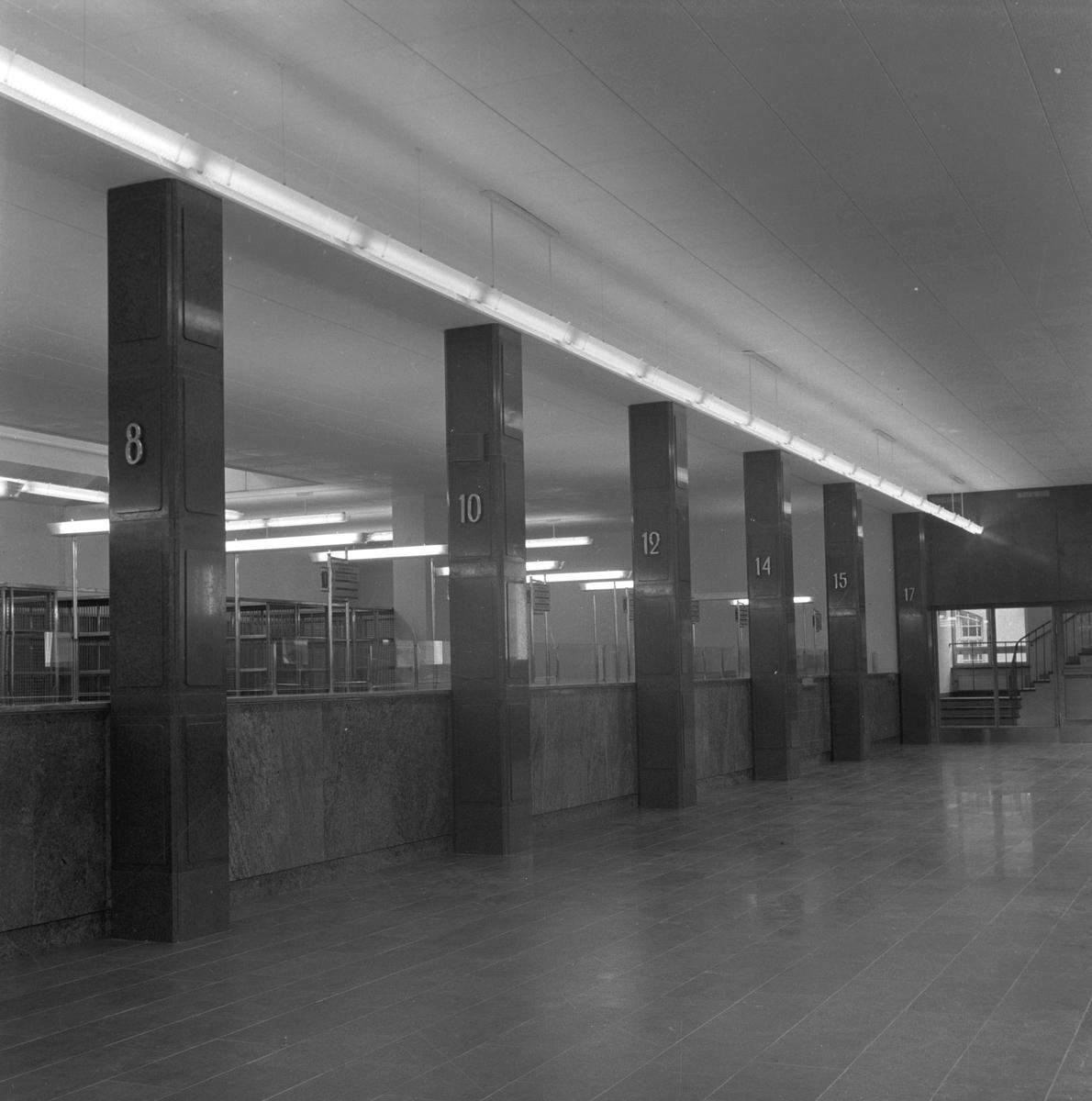 Nya Post- och telegrafhuset. 8 oktober 1948.