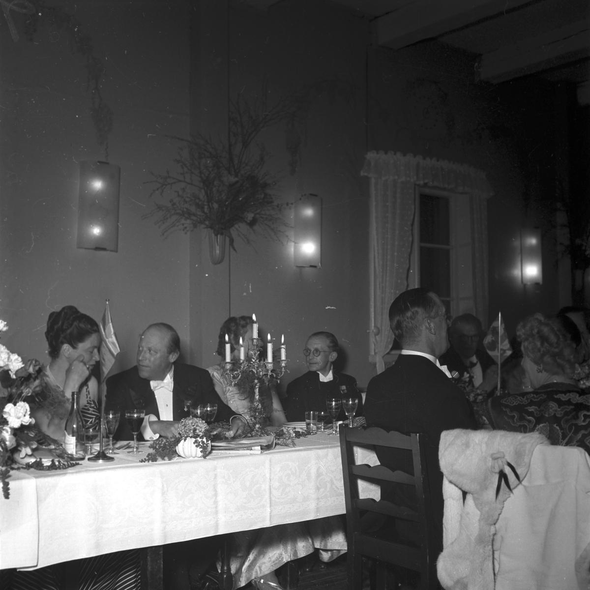 Direktör Gösta Nygren 50-årsdag i Furuvik. 23 april 1949.