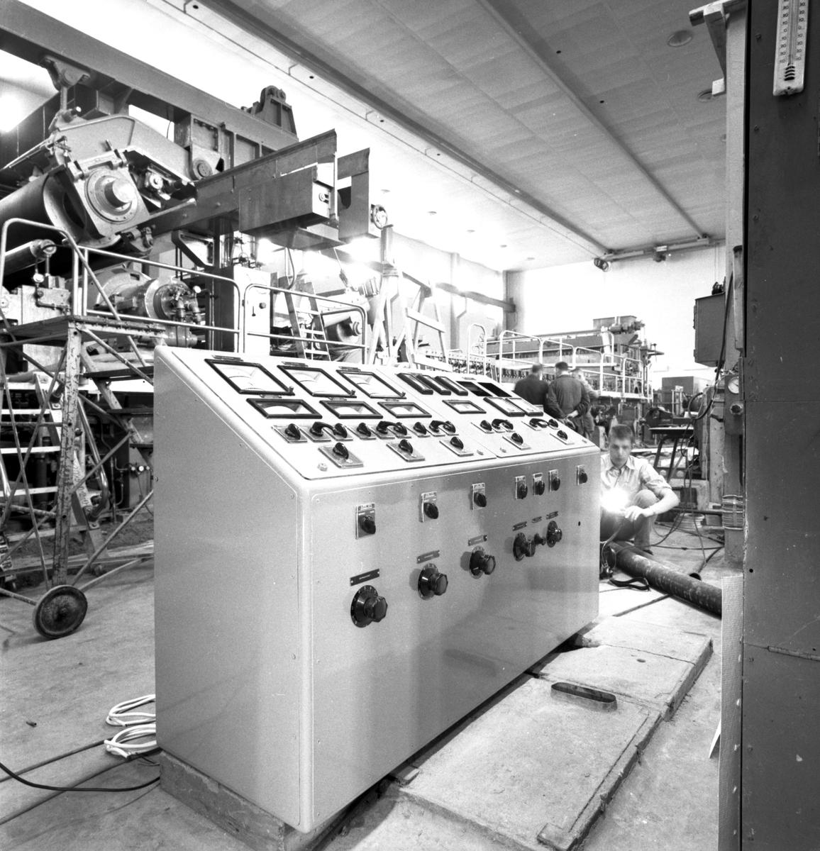 Styrcentral. Korsnäs AB. Den 7 april 1961
