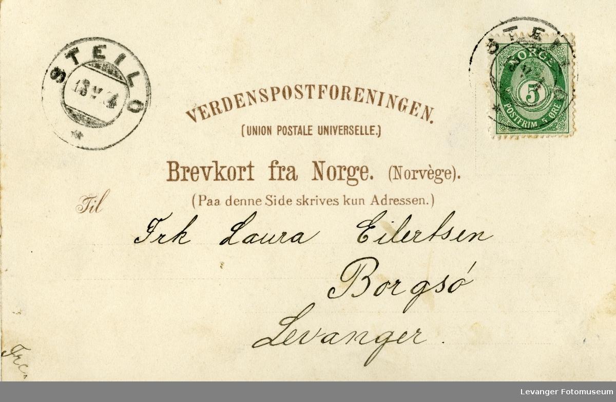 Postkort prospekt.