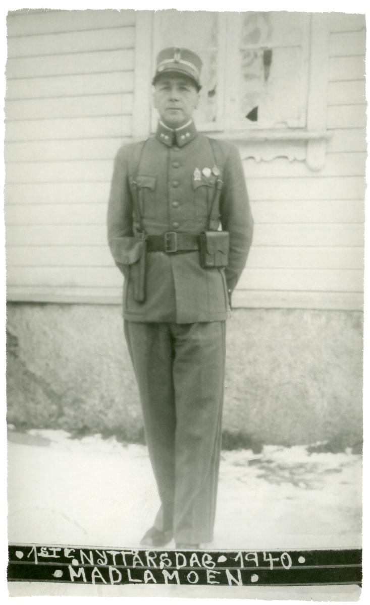 Løytnant Ola Tomasgard.