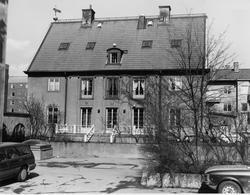 Staketgatan 2 / Byggmästargatan 5. Foto taget från syd-väst