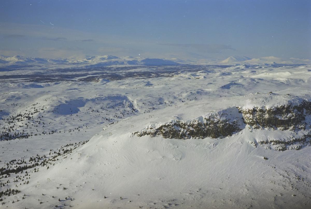 Skeikampen oversiktsbilde,  fjelltopp, skiheis, Skeikampen, Gausdal