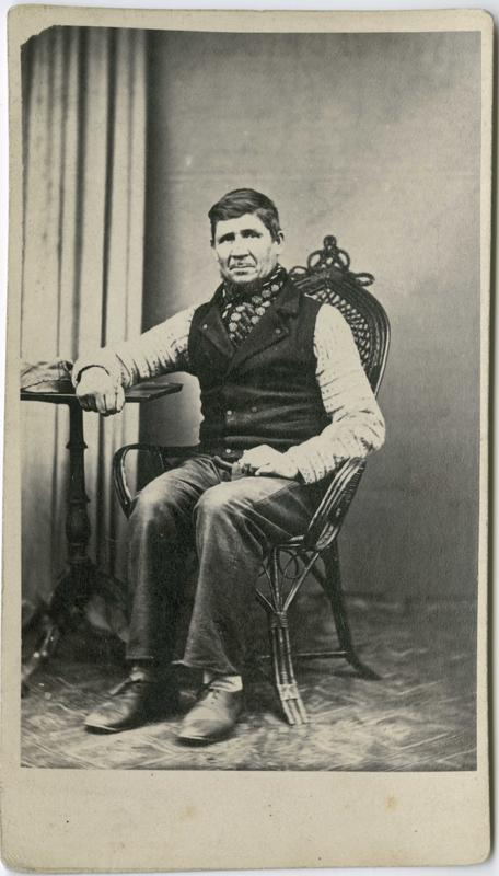 Lars Johannesson, Drammen, arrestert i 1866 eller 1867, innsatt i distriktsfengslet i Hokksund for tyveri.