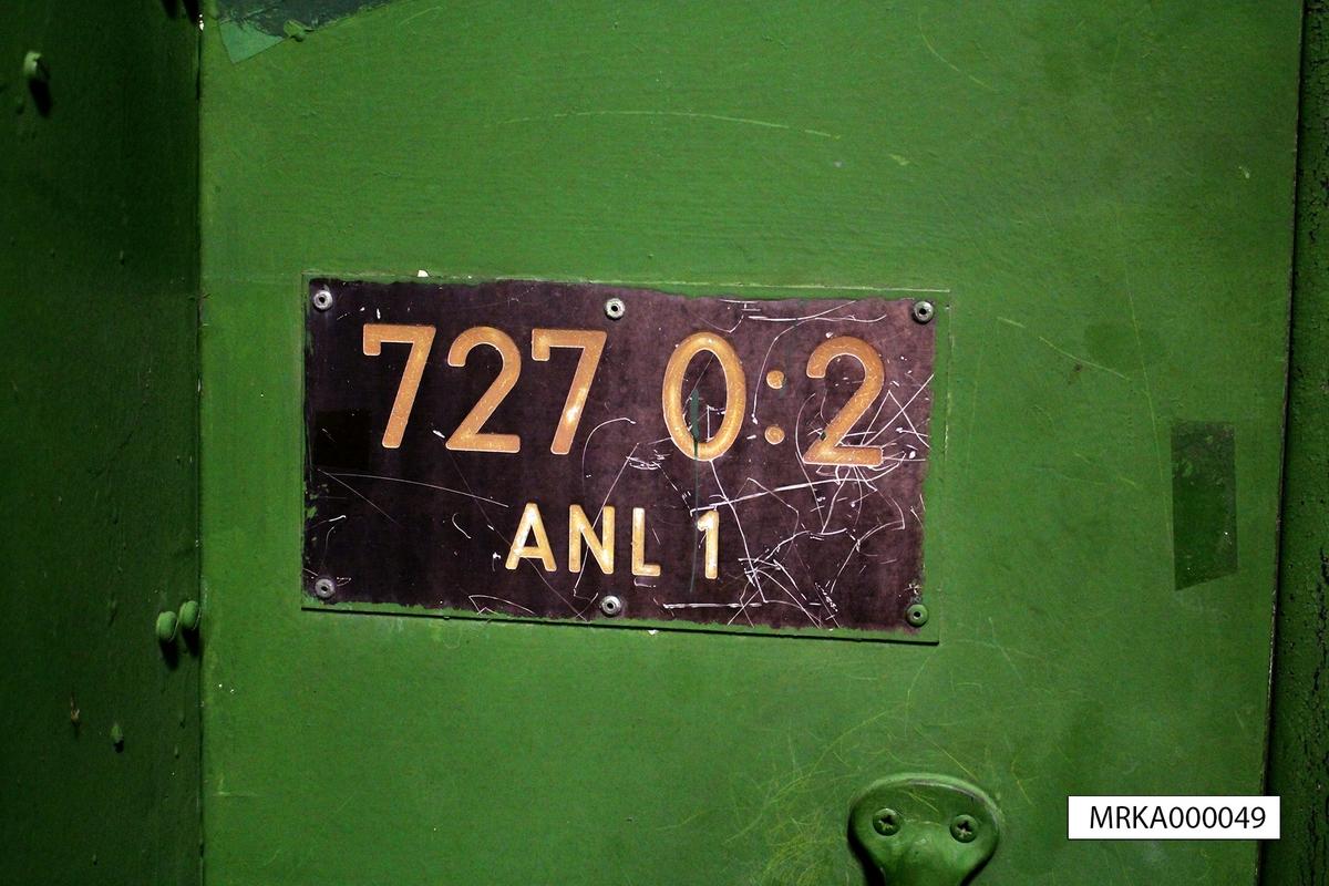 Data: Utrustning:  Artillerieldledningssystem ARTE 727 Digitalt växelsystem Datakommunikationssystem Kryptosystem Simulatorsystem Radiolänk Radiostationer