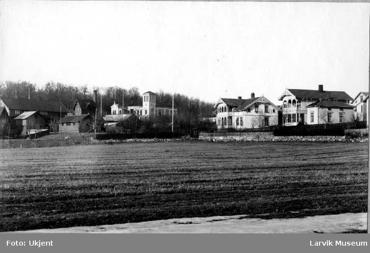 Kurbad, bygninger, Backerløkken, Larvik bad