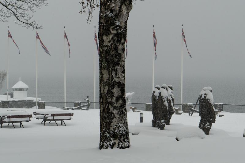 Vinter på Bygdøynes (Foto/Photo)