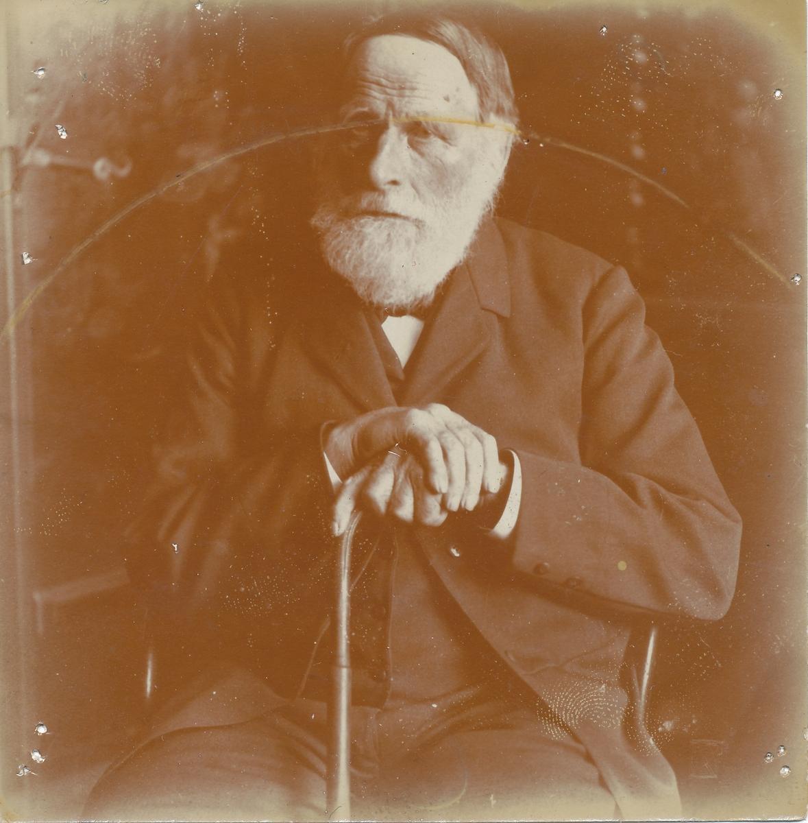 Skolelærer Thorvald Olsen, Otto Valstads onkel