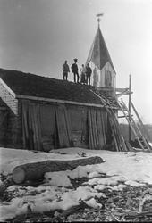 Beaivvasgieddi kapell Bygging av kapellet som stod ferdig i