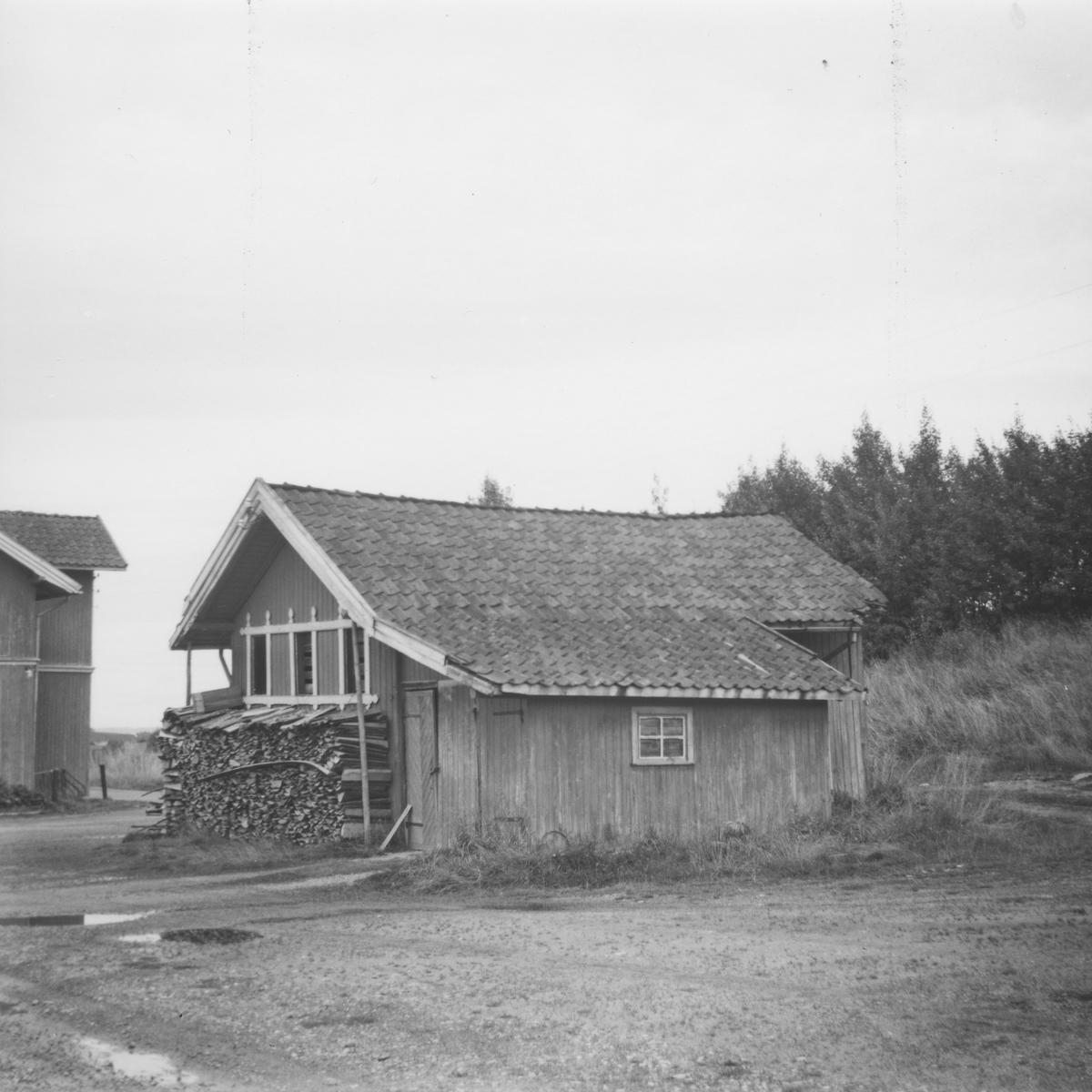 Uthuset på Hemnes stasjon på den nedlagte Aurskog-Hølandsbanen.