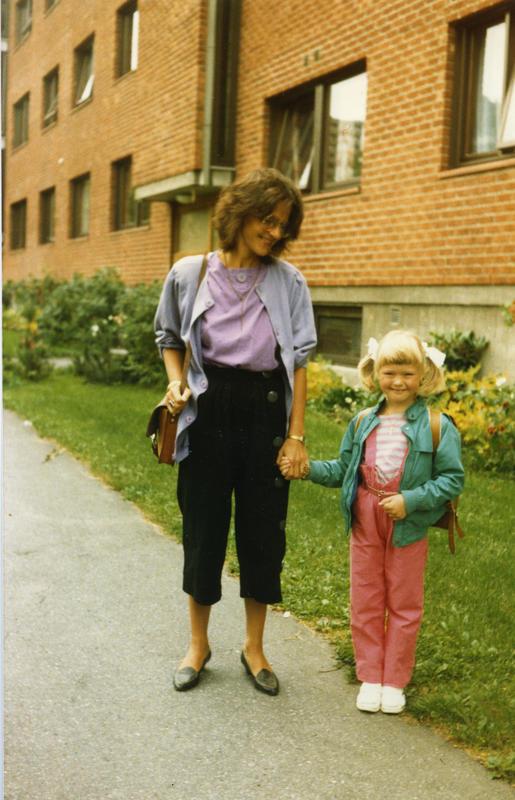 Barn på 80-tallet