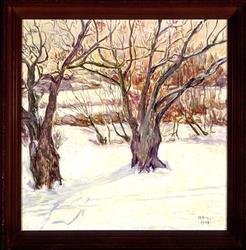 Päronträdet vid Bremsegården [Målning]